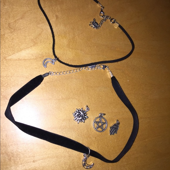 Claire's Jewelry - Two chokers!